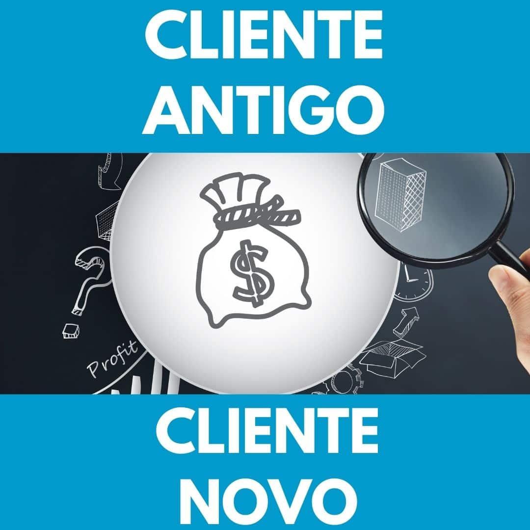 cliente antigo vs cliente novo em promoções