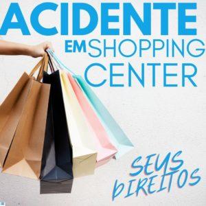 acidente em shopping center e seus direitos com uma pessoa segurando compras