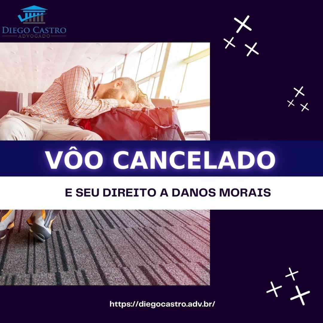 voo cancelado e seus direitos a danos morais