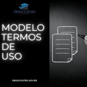 modelo termos de uso