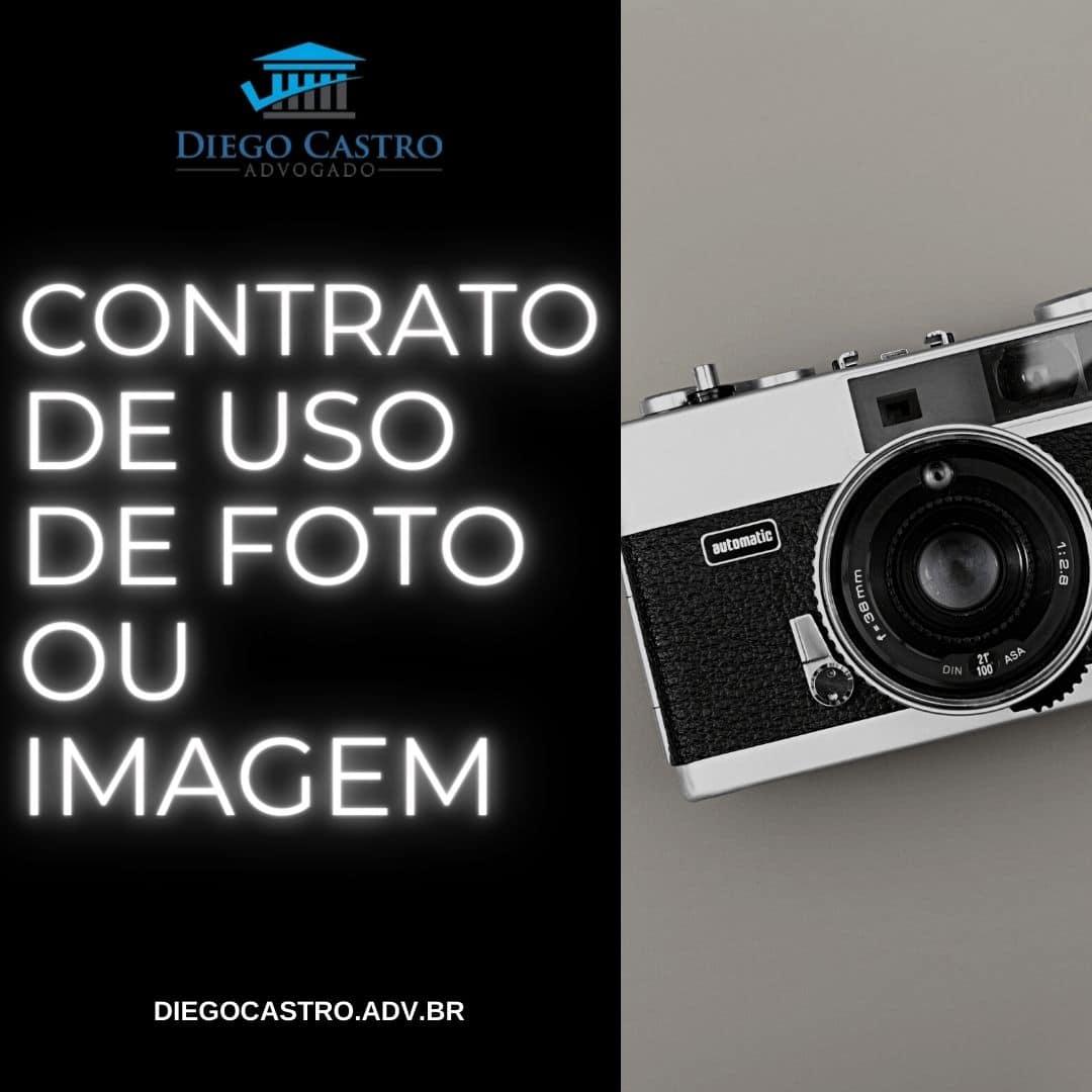 contrato de uso de foto ou imagem