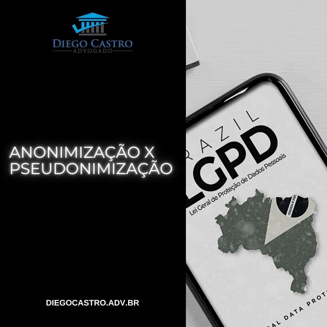 titulo do site a esquerda com celular a direita e as palavras LGPD Brazil