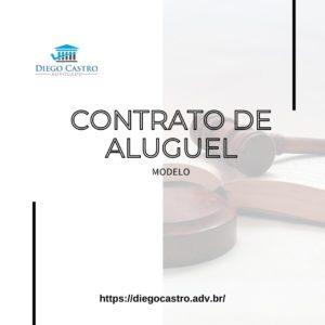 MODELO DE UM CONTRATO DE ALUGUEL